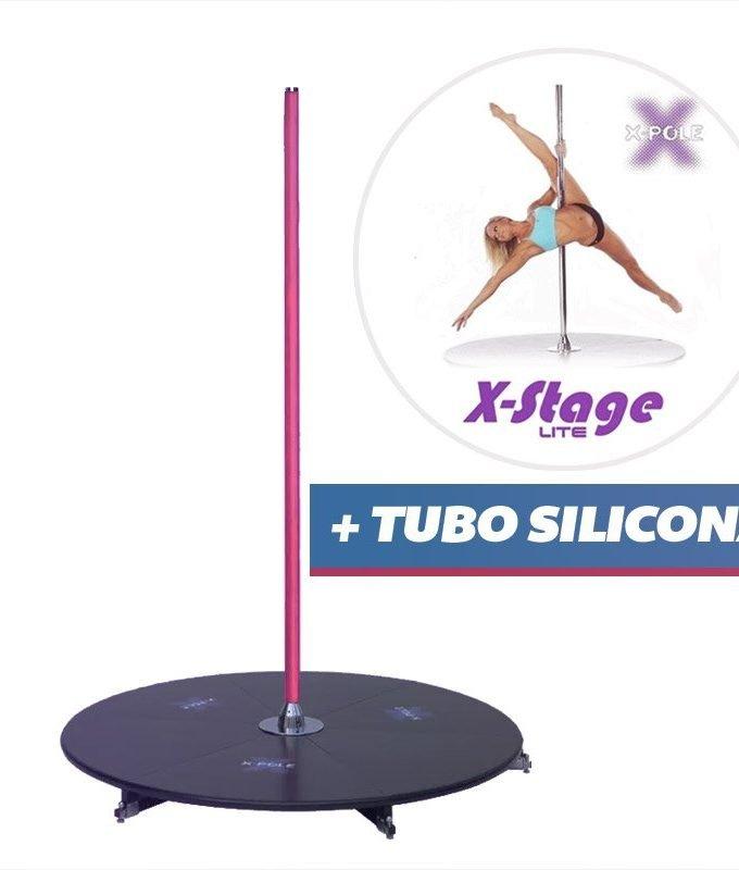 Xpole Stage Lite + tubo silicona